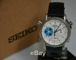 Extremely Rare Seiko Chronograph watch 7a28-7090 Yacht Timer Vintage