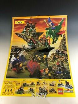 LEGO 6086 BLACK KNIGHTS CASTLE COMPLETE with BOX & Instructions RARE