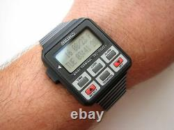 (ONLY THE WATCH) NEW RARE Vintage NOS SEIKO RC-1000 LCD Digital terminal watch