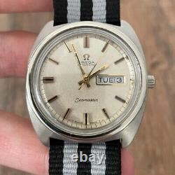 Omega Rare Seamaster Automatic Vintage Men's Watch 1968 Serviced + Warranty