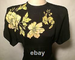 RARE COLLECTIBLE! 1940'S HOLLYWOOD DESIGNER superb dress-$1,500 on other site