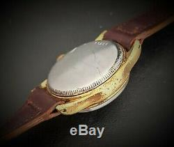 RARE Vintage 1930s Rolex Tudor Oyster Centregraph Small Rose Mens Watch
