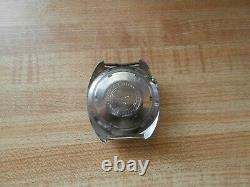 RARE Vintage SEIKO AUTOMATIC NAVIGATOR TIMER 6117-6419 Stainless Steel Watch