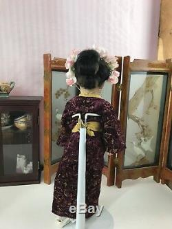 Rare Antique 15 S & H #1329 German Bisque Oriental Asian Character Doll