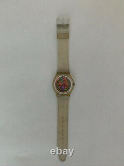 Rare Vintage Keith Haring Swatch Serpent GZ102 1986 Limited Edition
