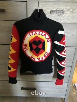 Rare Vintage Moschino Cheap And Chic Wool Turtleneck Sweater The Italian Dream