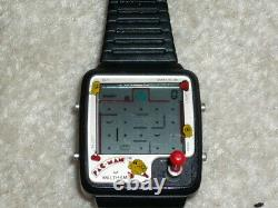 Rare vintage 1980 Pac man joystick watch Waltham / Nelsonic highly collectable