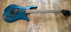 Spector NS-6A Electric Guitar Vintage 1980s Schaller Tuners Floyd Rose Teal RARE