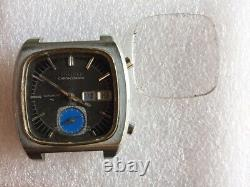 VINTAGE Rare Seiko Monaco Flyback7016-5011 Chronograph Automatic Watch For Parts