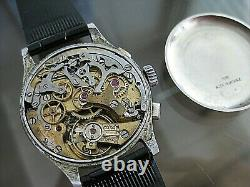 Vintage And Rare Angelus Chronograph Suisse 17 Jewels Swiss Made Wristwatch