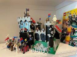 Vintage LEGO Black Knights Castle Set #6086 (from 1992) Mostly Complete RARE