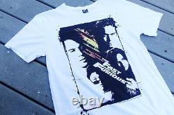 Vintage The Fast And Furious Movie Promo 2000 T Shirts Rare Paul Walker Size L