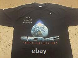 Rare Vintage 1996 Indépendance Day Id4 Film T Shirt Taille XL Tag Nwot
