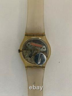 Rare Vintage Keith Haring Swatch Serpent Gz102 1986 Edition Limitée