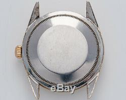 Vintage 1960 Rare Or Rolex Oyster Perpetual Shell Ref. 1024 Sur Domaine