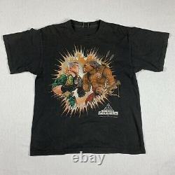 Vintage Small Soldiers Shirt Movie Promo Dreamworks Mens Large Rare Double Side